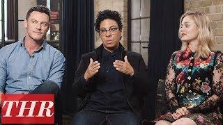Luke Evans & Bella Heathcote Discuss Polyamory in 'Professor Marston & the Wonder Women' | TIFF 2017