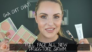 Full Face ALL NEW Drugstore GRWM || Bronze Glam Look - Elle Leary Artistry