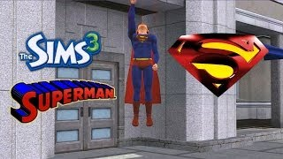 Sims 3 - SUPERMAN - includes flying animation!