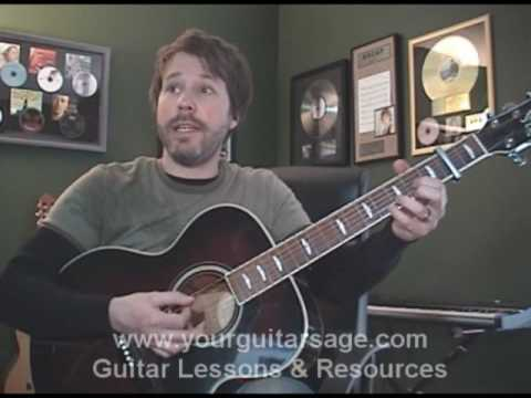 Guitar Lessons Jesus Take The Wheel By Carrie Underwood Cover