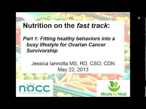 NOCC's Nutrition on the Fast Track Webinar Part 1: Fitting Healthy Behaviors into a Busy Lifestyle