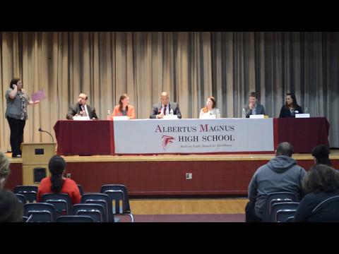 Albertus Magnus High School College Panel!