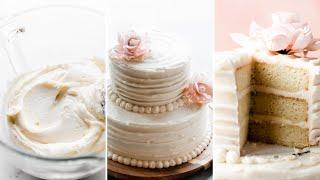 Simple Homemade Wedding Cake Recipe  Sally&#39s Baking Addiction