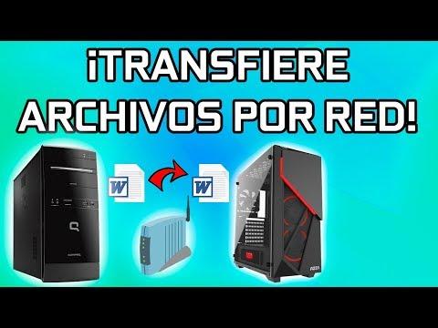 COMO TRANSFERIR ARCHIVOS DE UNA COMPUTADORA A OTRA USANDO TU MODEM Y CABLES DE RED
