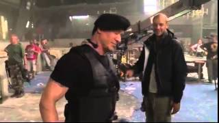 THE EXPENDABLES 3 (2014) --- Making of video (NEW) Behind the Scenes [HD] (2014.05.30)