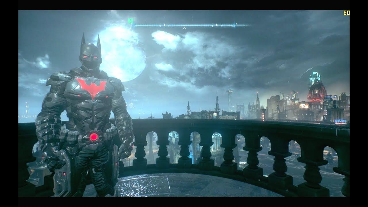 Batman Arkham City - Batman Beyond Sandbox Gameplay PC ...   Batman Arkham City Batman Beyond Flying