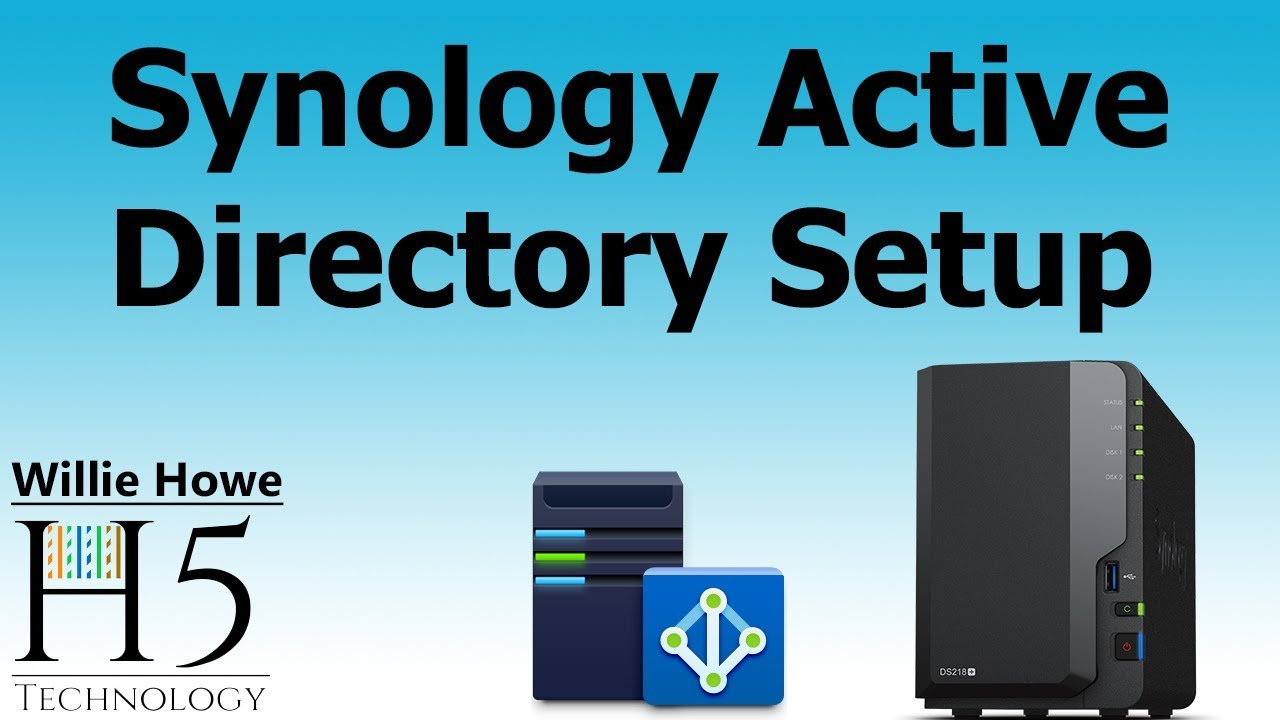 Synology Active Directory Server Setup