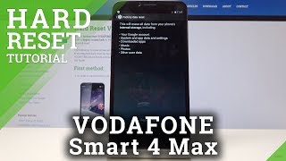 HARD RESET VODAFONE Smart 4 max - Erase Content & Settings