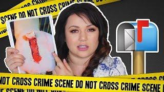 fan sent crime scene photo mail vlog 9