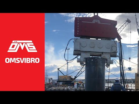 OMS Pile Driving Equipment - Vibro Hammer