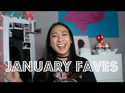 JOVI'S MONTHLY FAVES : JANUARY 2017  + GIVEAWAY || Jovi Hunter