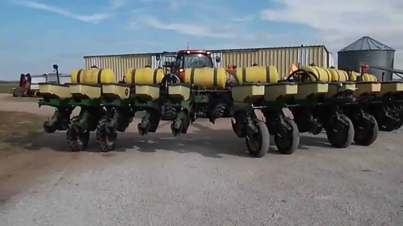 John Deere 1770 Maxemerge 16 Row Youtube
