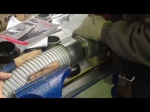 Опрессовка композитных рукавов