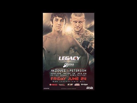 Legacy 56 Prelims - Rashaad Robinson vs Osiris Ayala