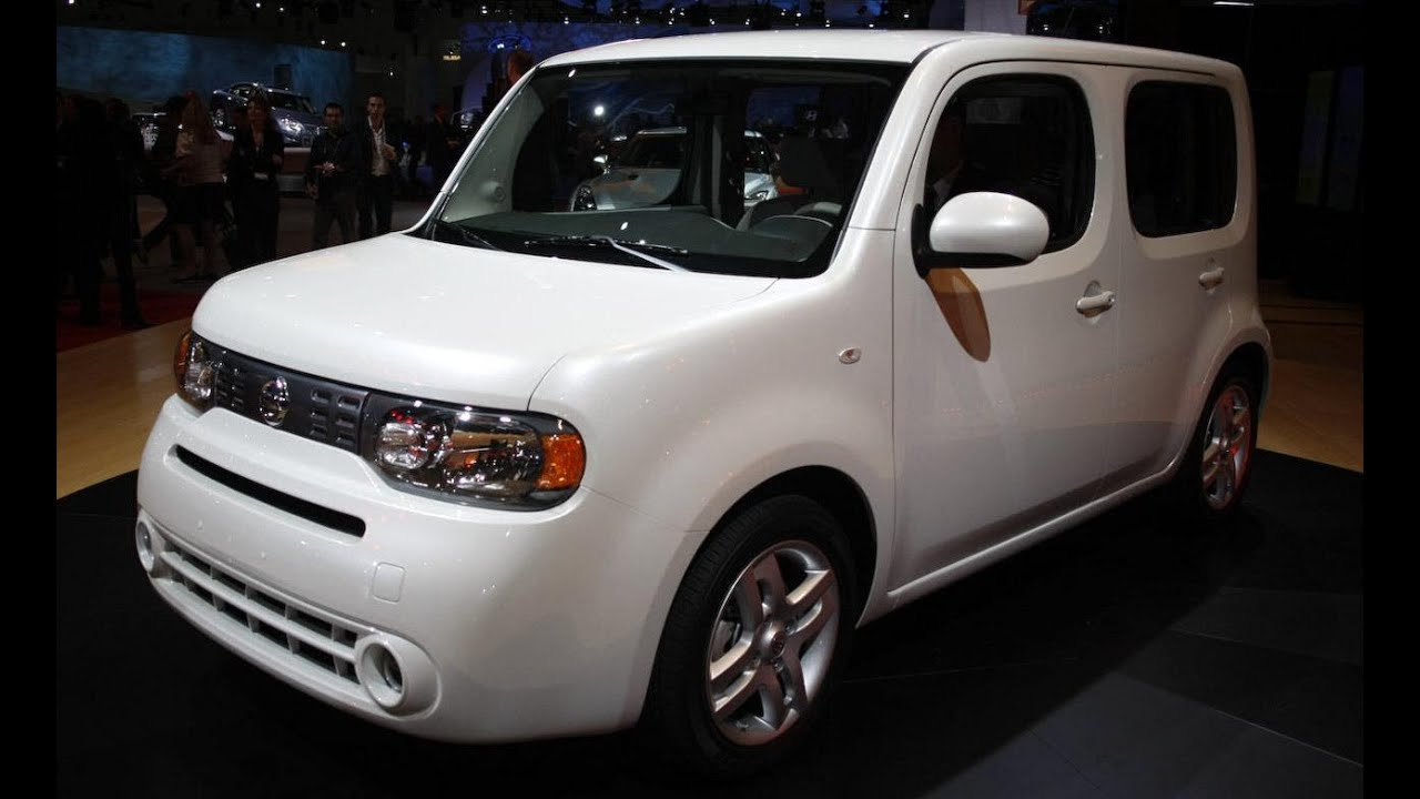 Nissan 2010 nissan cube : 2010 Nissan Cube at L.A. Auto Show - CAR and DRIVER - YouTube
