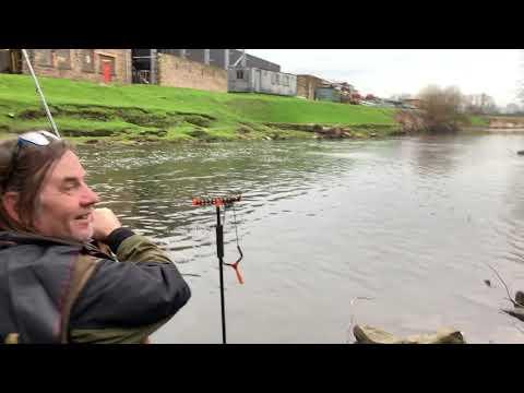 Float Fishing On The River Calder