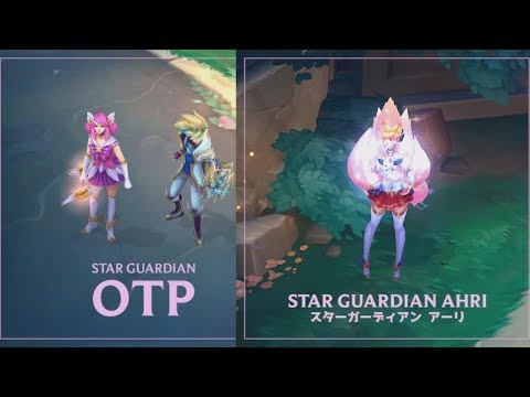 Star Guardian Ahri Recall + Star Guardian Ezreal and Lux  - Teaser