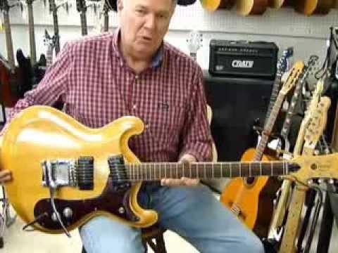 Vintage Original Mosrite Joe Maphis Electric 6 String Guitar
