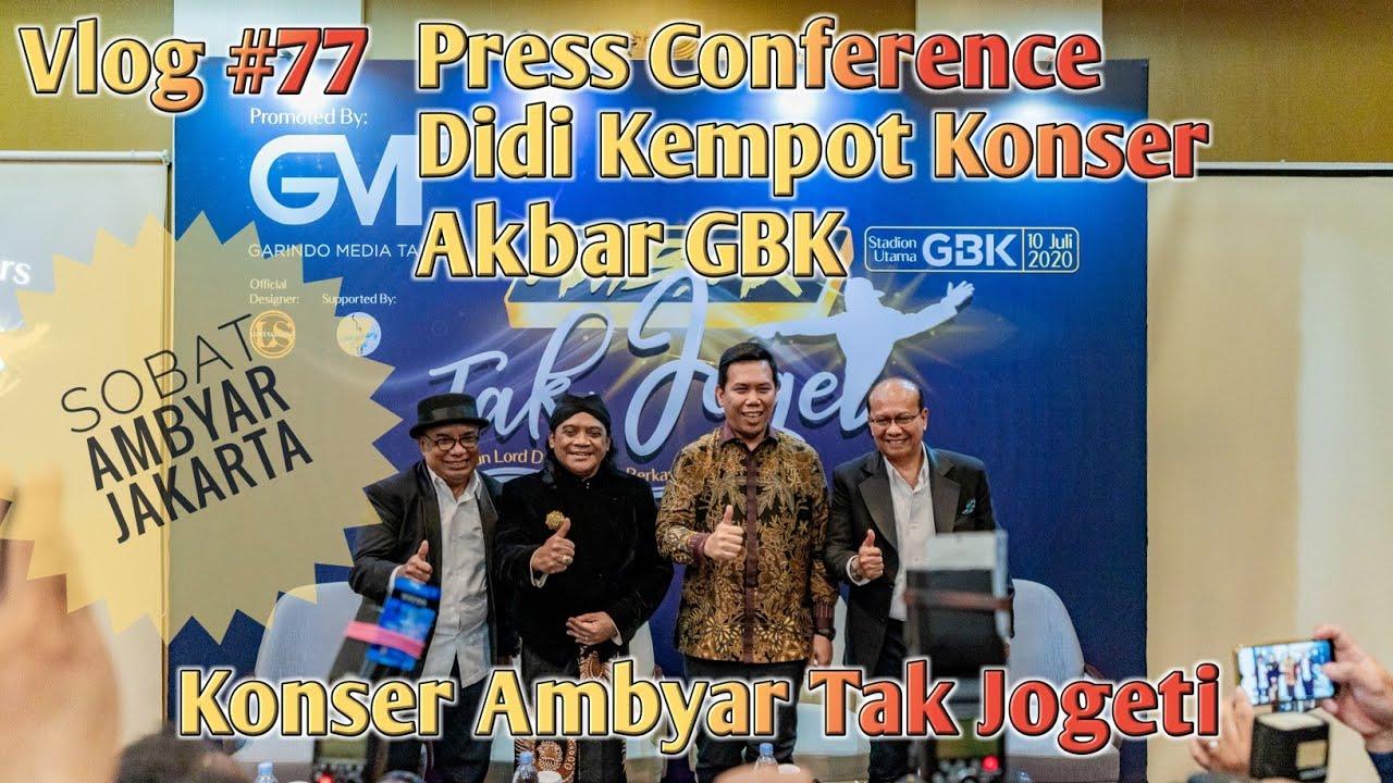 Press Conference Didi Kempot Konser Ambyar Tak Jogeti Stadion