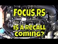 Ford Focus RS : day 221 : A fix for all RS engines?