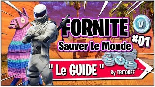 Fortnite Guide to Getting Started on Saving the World PVE and Having a V-Bucks MAX