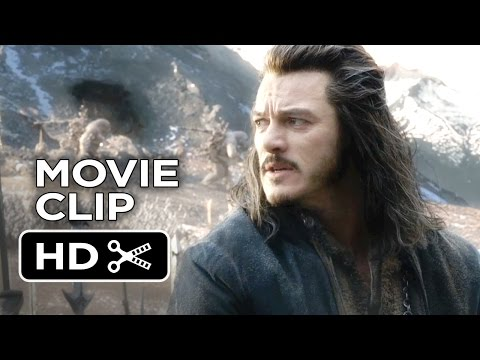 The Hobbit: The Battle of the Five Armies Movie CLIP - Attack the City (2014) - Luke Evans Movie HD
