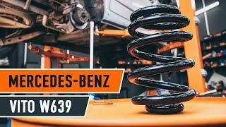 Wie MERCEDES-BENZ VIANO W639 Fahrwerksfedern vorne wechseln TUTORIAL | AUTODOC