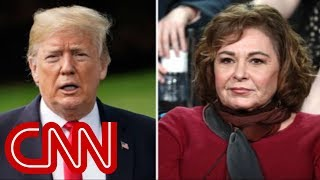 Trump responds to 'Roseanne' cancellation