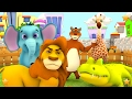 The Zoo Song | We're going to the Zoo | Animals Song | Kindergarten Songs