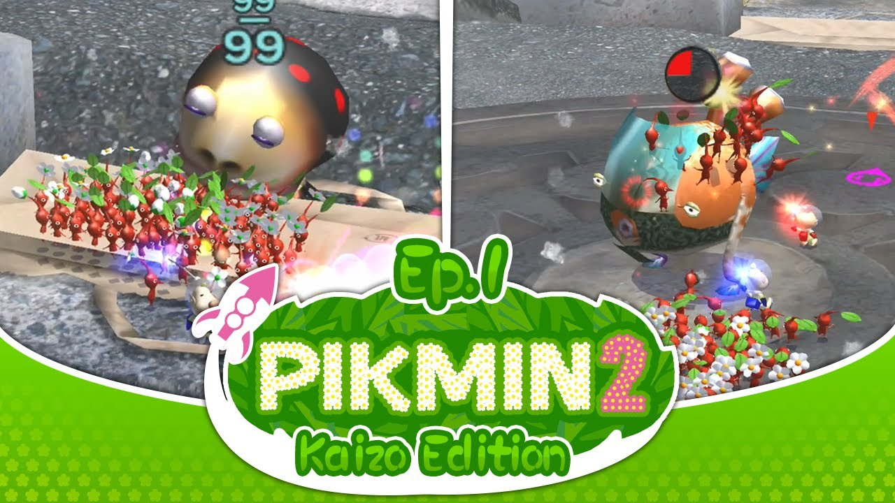 pikmin 2 gameplay no commentary