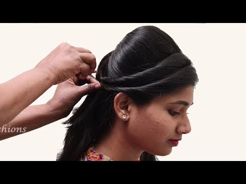 Best Side Bridal Hairstyle Tutorials || New Hairstyles videos || Easy Hairstyles videos 2018