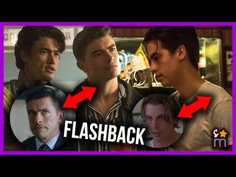 More RIVERDALE Flashback Photos - Young Hiram, Clifford, Cole as FP! (Season 3 Episode 4)