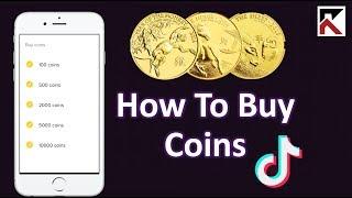 How To Buy Coins Tiktok Youtube