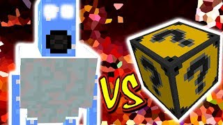BOSS DO GELO VS. LUCKY BLOCK TEXTMONSTER (MINECRAFT LUCKY BLOCK CHALLENGE ICE BOSS)