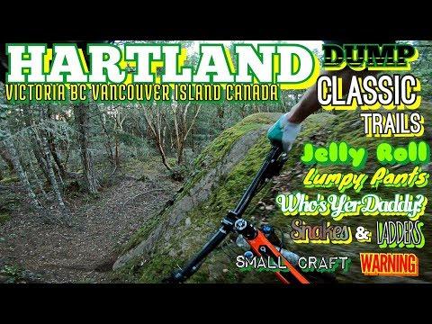 Mountain Biking on Vancouver Island-Hartland Dump Classics-GoPro Hero6 Karma Grip
