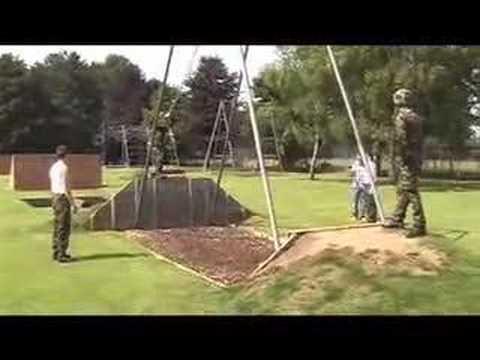 Sean Coleman's RAF Bootcamp: Assault Course