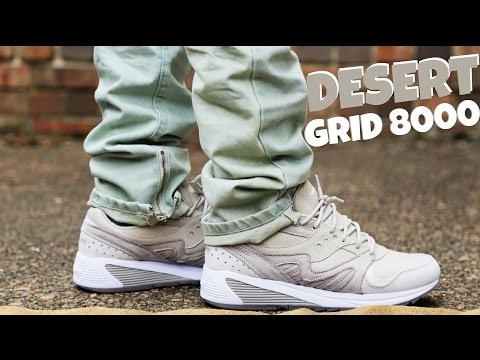 """SAUCONY GRID 8000 """"DESERT"""" REVIEW AND ON FOOT"""