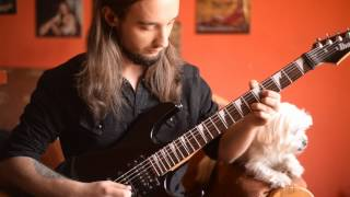 Vital Remains Dechristianize Guitar Solo Cover