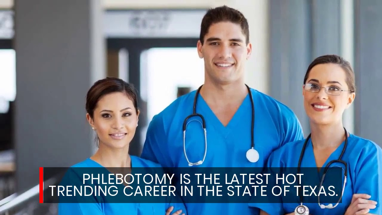 Best Phlebotomy Schools El Paso Texas Youtube