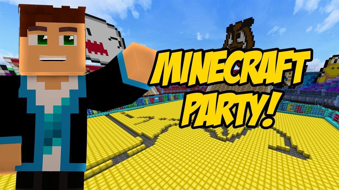 MINECRAFT PARTY #120 – OSTRA RYWALIZACJA!