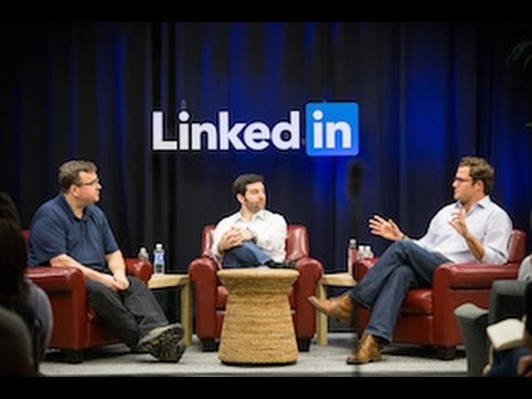 LinkedIn Speaker Series: Jeff Weiner, Reid Hoffman and Ben Casnocha