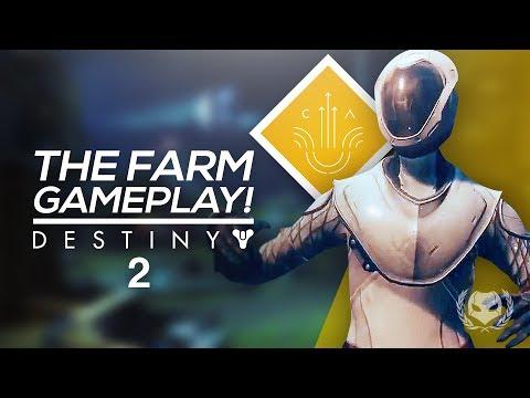 Destiny 2: The Farm Social Space Gameplay!...