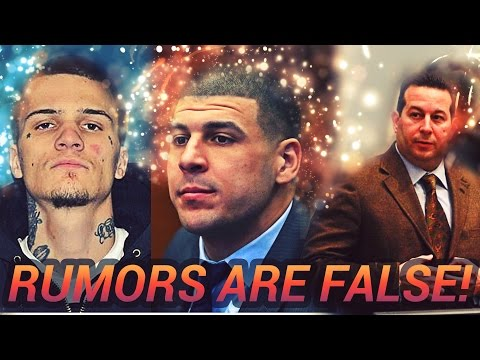 """Aaron Hernandez: Lawyer Confirms Gay Rumors Are FALSE 