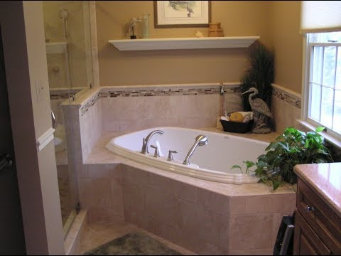 Corner Soaking Tub For An Ultimate Way To Unwind