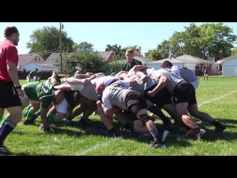 Wayne County Rugby game Hosted in Riverview (Fenian VS. Sharks)