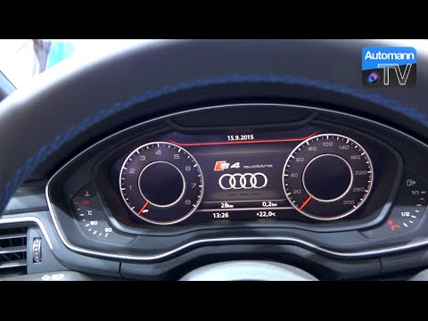 2017 Audi S4 Limousine 354hp First Check 60fps