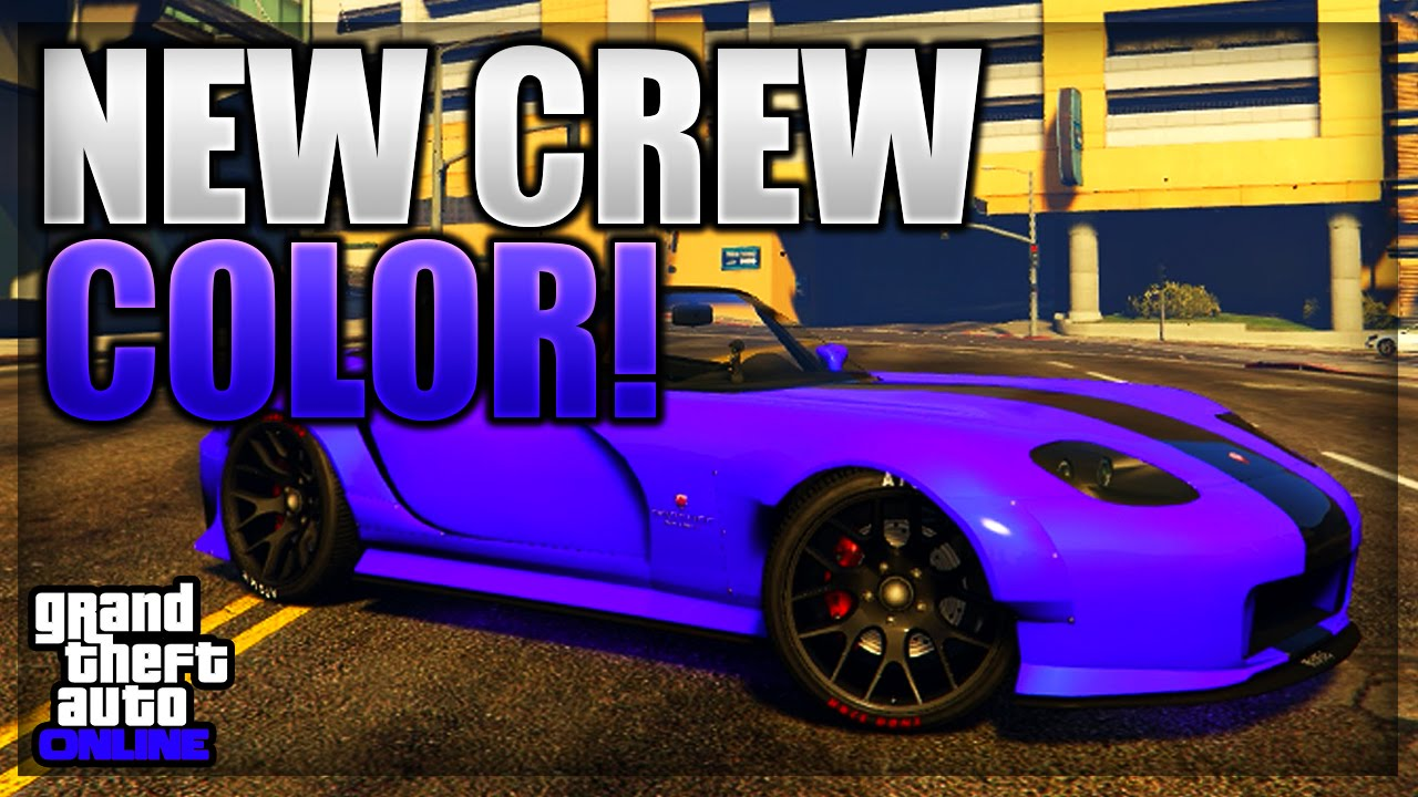 Gta 5 Online New Rare Modded Crew Color 47 Quot Intoxicated