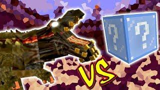 DEVILJHO VS. LUCKY BLOCK FROZEN (MINECRAFT LUCKY BLOCK CHALLENGE)