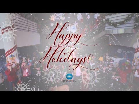 Konica Minolta 2017 Holiday Video