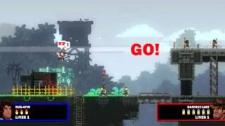 Broforce - Вот такие мы мужики: Часть 2 на PS4 (Hard)